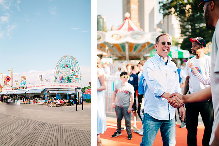NYC portrait photographer, jerry seinfeld nyc