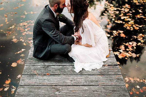 adventurte wedding photographer, nature wedding photographer